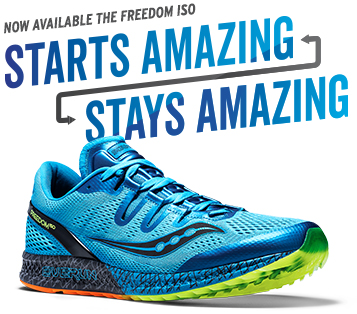 Saucony – The Freedom ISO