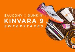Saucony X Dunkin' Kinvara 9 Sweepstakes