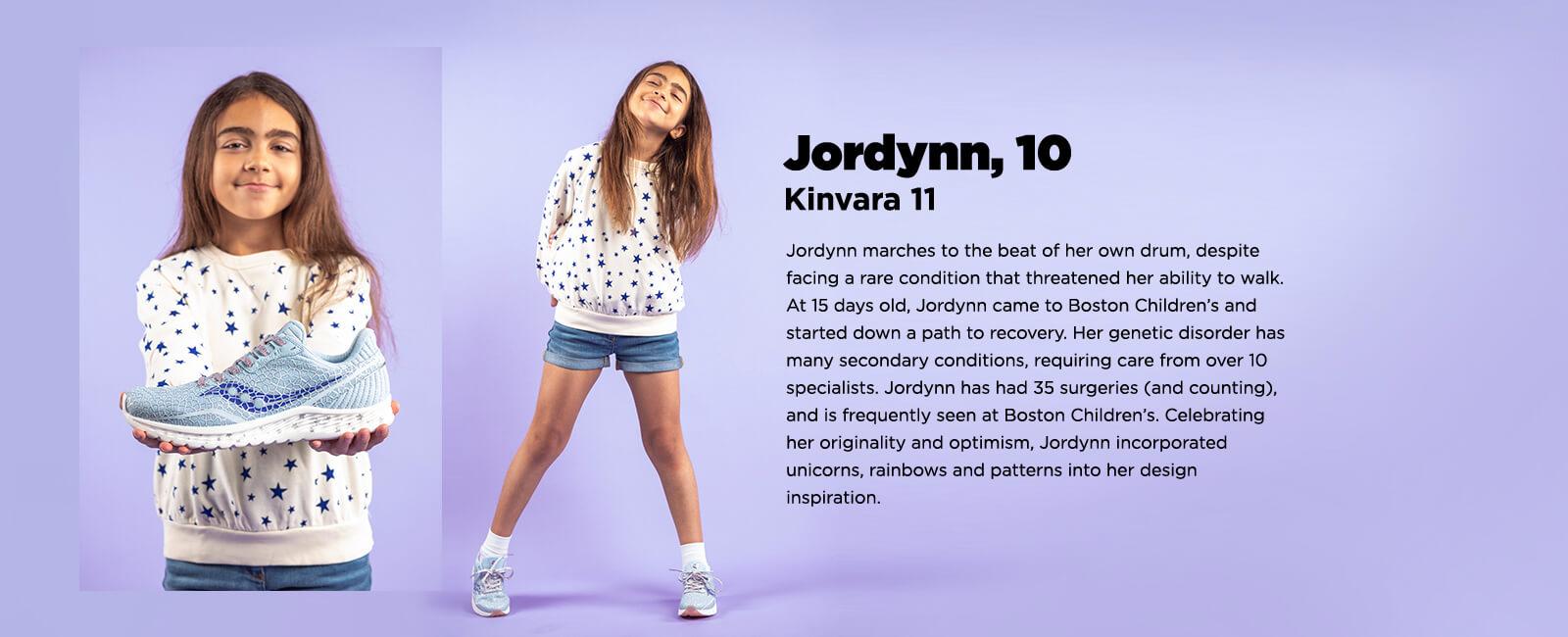 Jordynn, 10 Years old Boston Childrens Hospital
