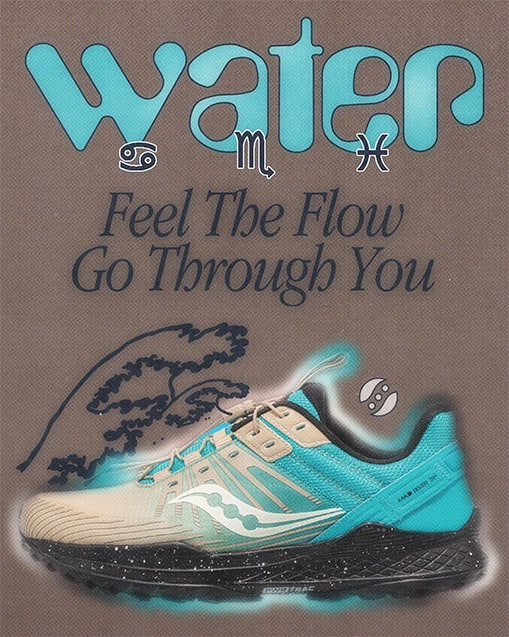 WATER. Feel the flow go through you.