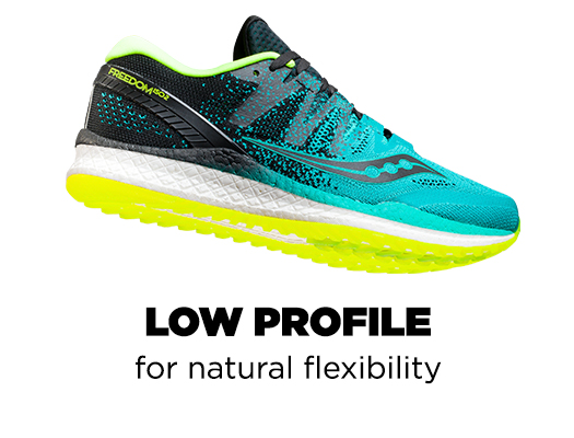 Low Profile for natural flexibility